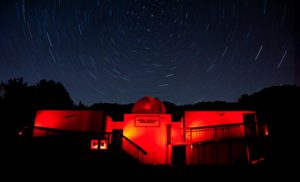Night Sky Trails @ Robert Ferguson Observatory