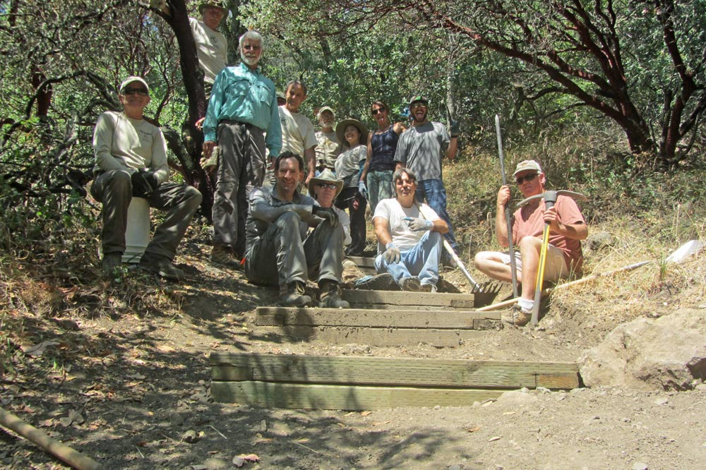 CANCELED: Trail Crew: Sonoma County Trails Council @ Sugarloaf Ridge State Park