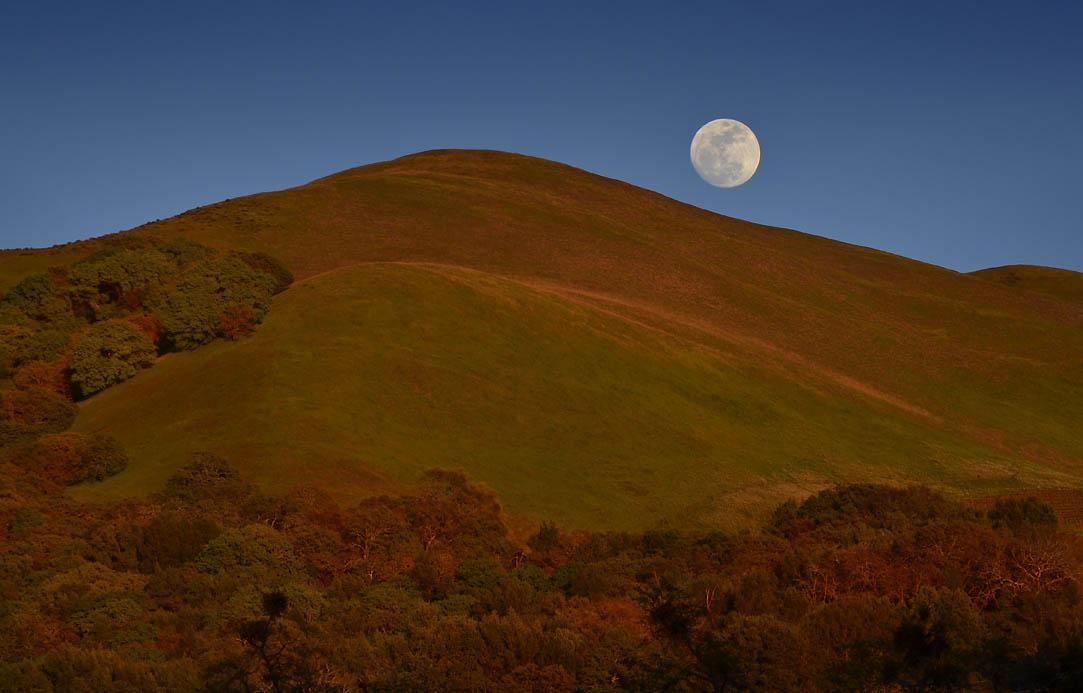Full Moon Hike @ Sugarloaf Ridge State Park | Kenwood | California | United States