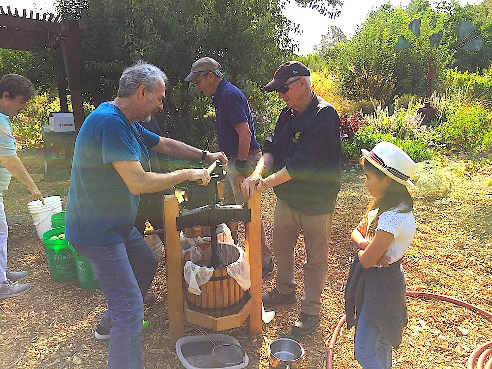Apple Cider Pressing @ Sonoma Garden Park