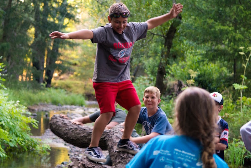 Creek Camps Offer Watershed Fun