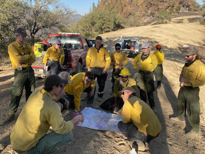SEC's Garrett Gradillas Leads Firefighting Team in North County