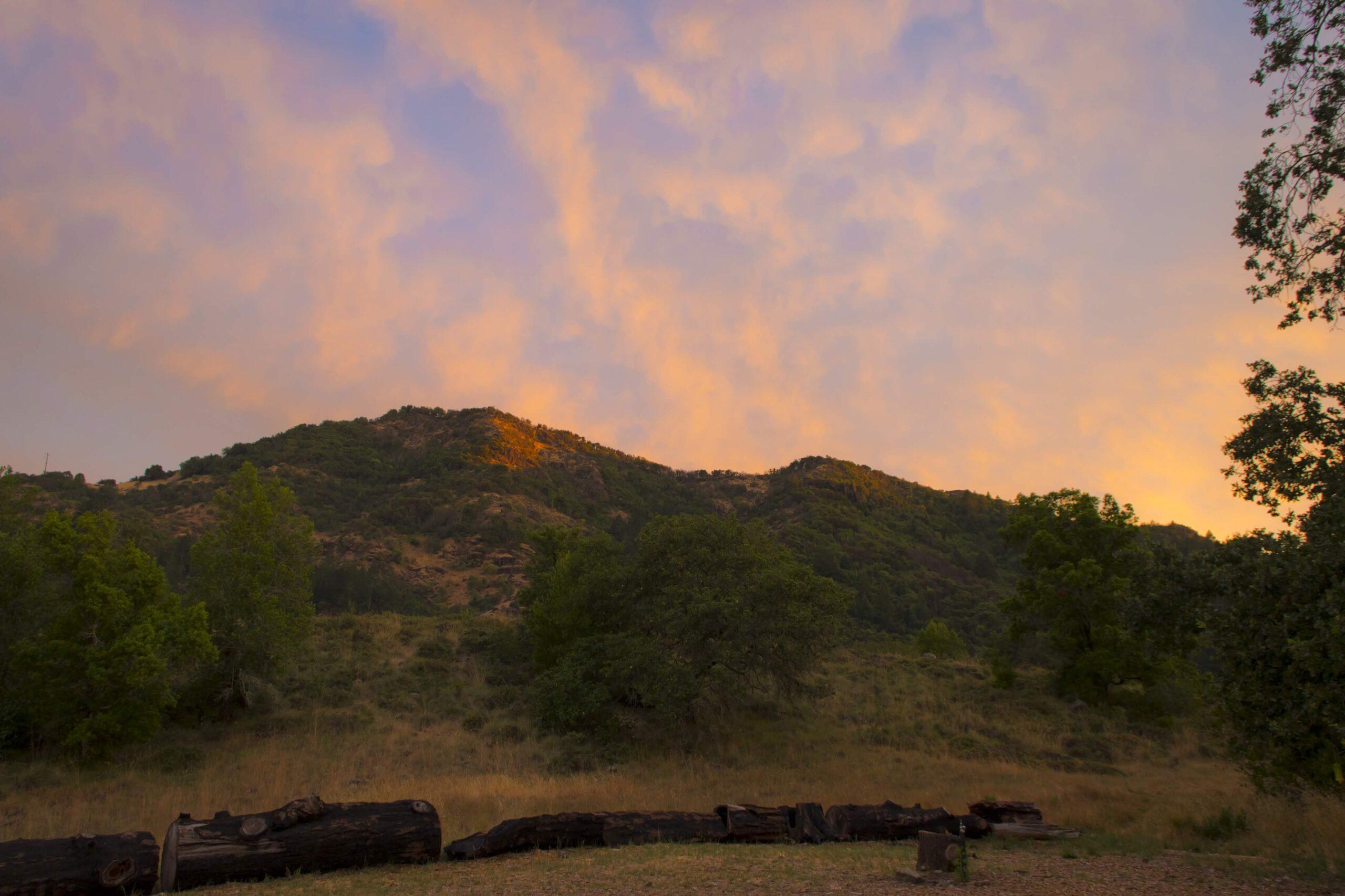 Blustery Evening Walk at Sugarloaf @ Sugarloaf Ridge State Park